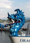 The blue Dragon, Lucerne Switzerland