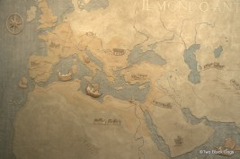 Map of the Roman Empire, National Museum Rome