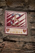 One of Siena's 'districts'