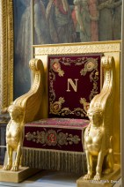 Napoleon's chair, Palace of Versailles