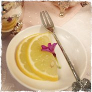 lemon slices on a plate