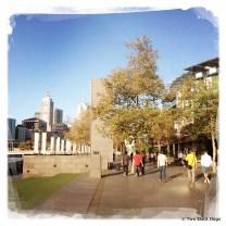 Take a walk along the river