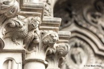 Dragon Gargoyles on St Giles Cathedral exterior