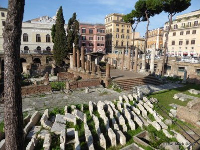 The ancient ruins of Largo di Torre Argentina