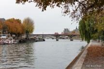 Pont des Arts over the River Seine