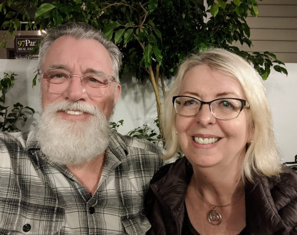 Adriel and Susan at Collage Restaurant, St. Augustine, Florida