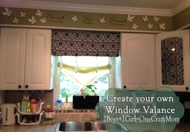 Curtain Valance Kitchen