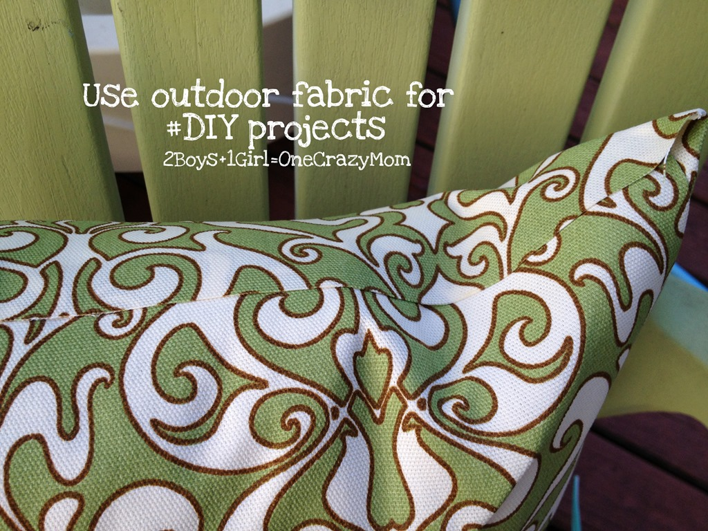 Simple DIY outdoor NoSew Fabric projects  2 Boys  1