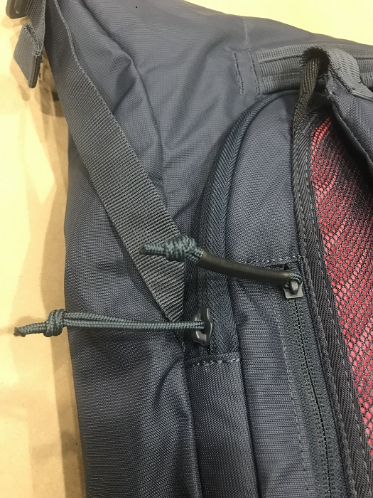zipper pulls for access to ccw compartment