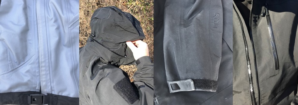 features of 5.11 approach jacket
