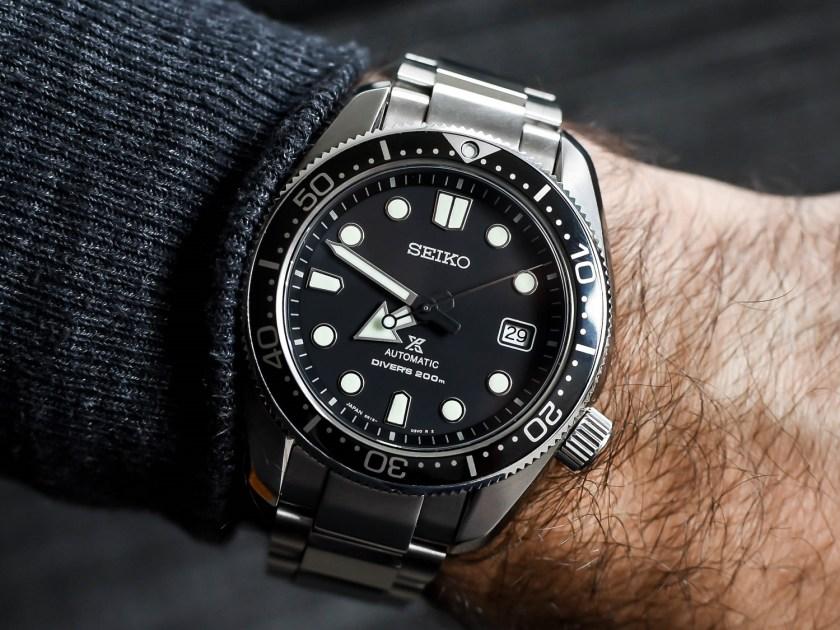 Seiko SBDC061 on the wrist