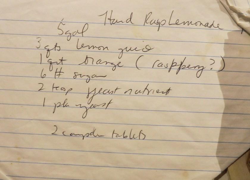 Approximate Recipe