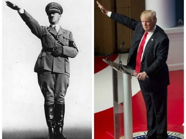 Hitler-Trump-salute-Getty-TOI-collage