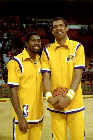 magic and kareem abdul-jabbar