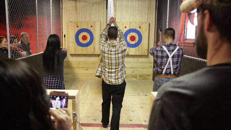 Axe Throwing is Apparently Trendy Now and I Don't Know if I'm Trendy Anymore