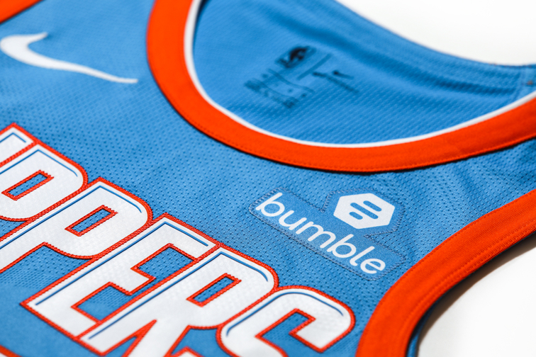 Bumble Is Advertising On NBA Jerseys To Help Promote Gender Equality? Wait...