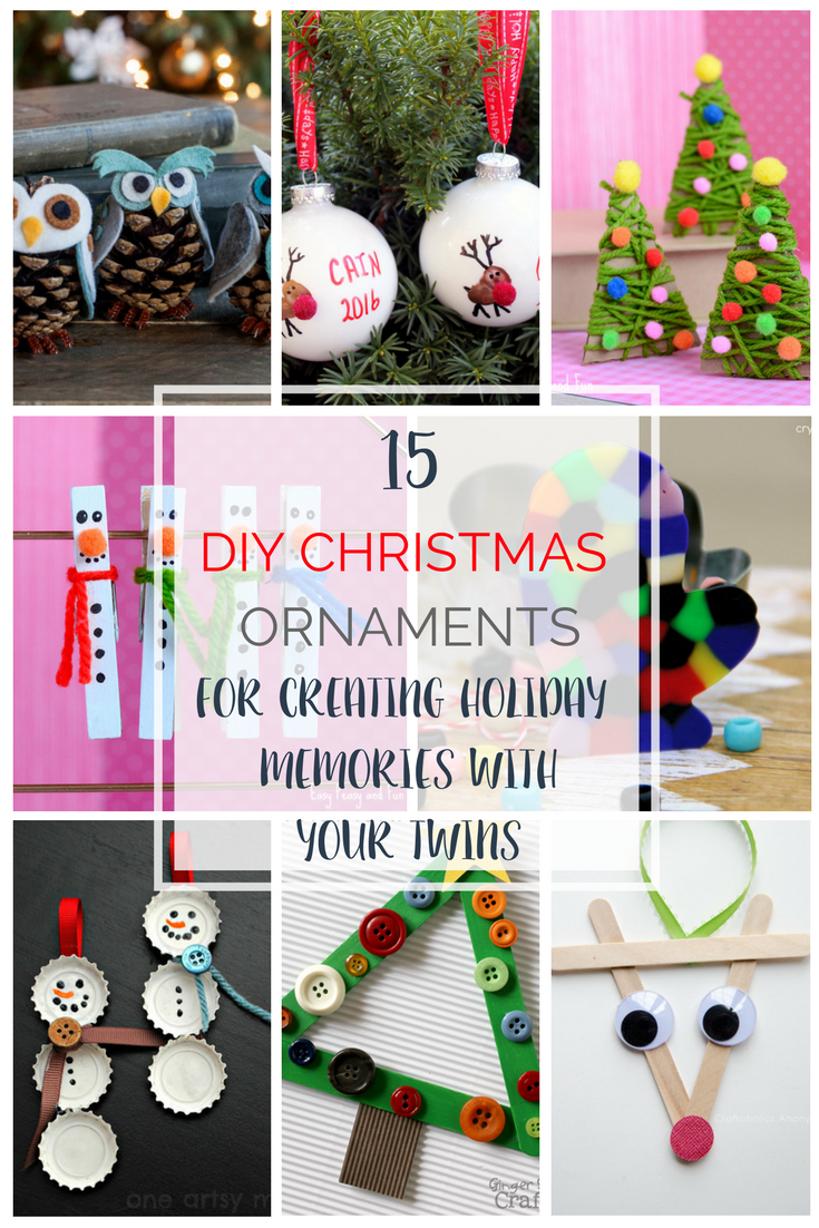 15 DIY Ornaments to Help You Create Holiday Memories With ...