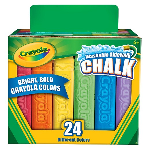 20 gift ideas for filling your twins easter baskets without candy crayola washable sidewalk chalk negle Gallery