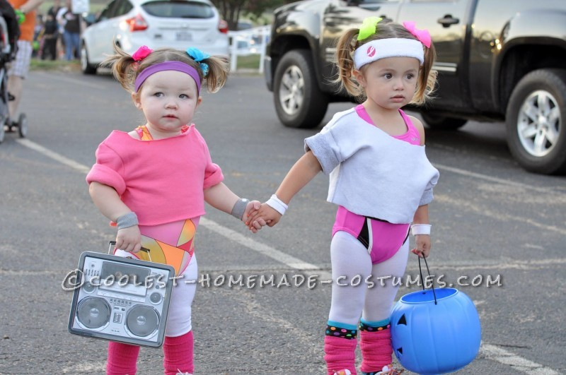 Not only are these little workout outfits easy to make they wonu0027t break the bank either! We love that! Thanks for such a great idea Leah M. at Coolest ...  sc 1 st  Two Came True & 20 Cute u0026 Coordinating Halloween Costume Ideas for Twins | Two Came True