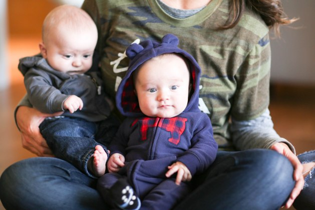 surviving outings with twins alone