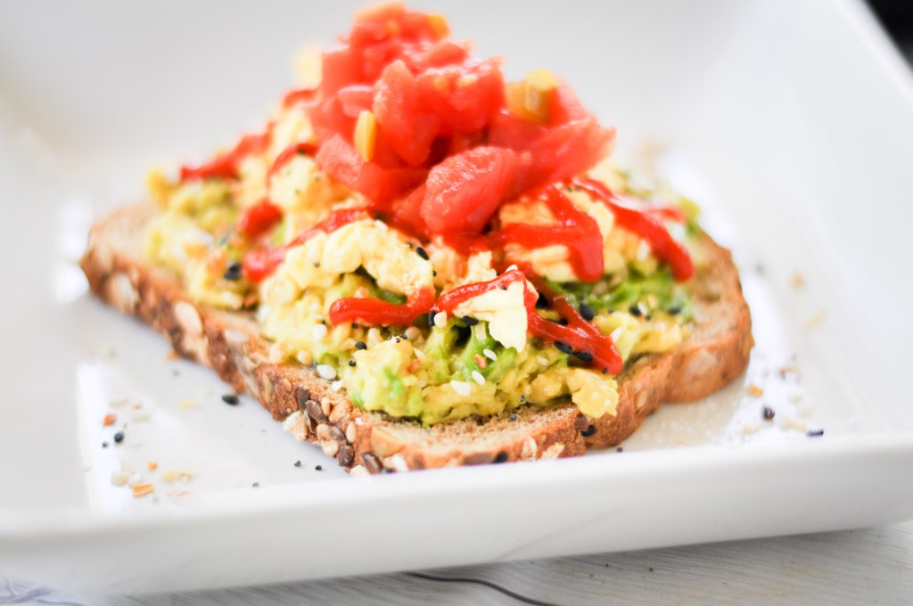 protein-packed avocado toast