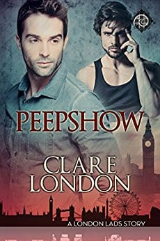 Peepshow by Clare London: Release Day Review with Giveaway