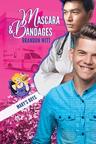 Mascara & Bandages by Brandon Witt: Release Day Review with Giveaway