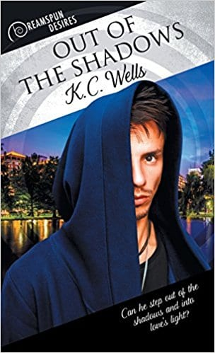 Out of the Shadows by K.C. Wells: Release Day Review and Giveaway