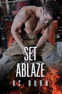 Set Ablaze by KC Burn: Exclusive Guest Post, Release Day Review and Giveaway