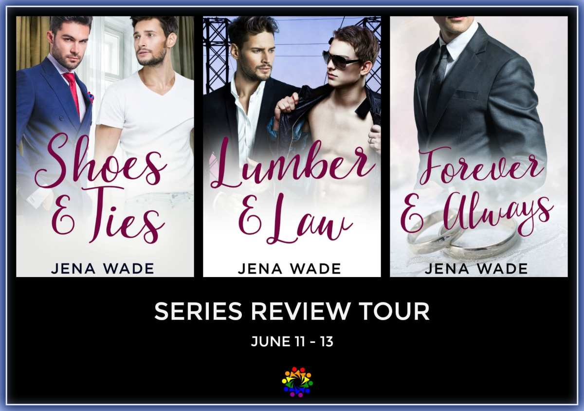 Shoes and Ties by Jena Wade: Series Review, Excerpt and Giveaway
