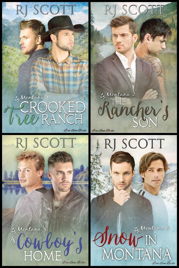 Montana Series by RJ Scott: Series Review and Giveaway