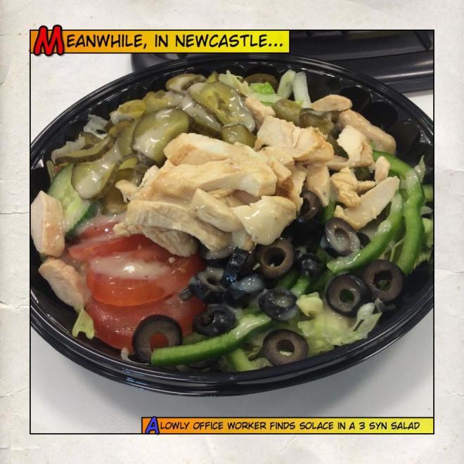 Subway salad