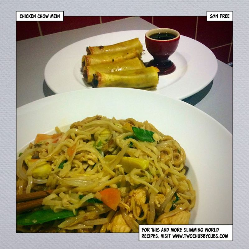 chicken chow mein slimming world