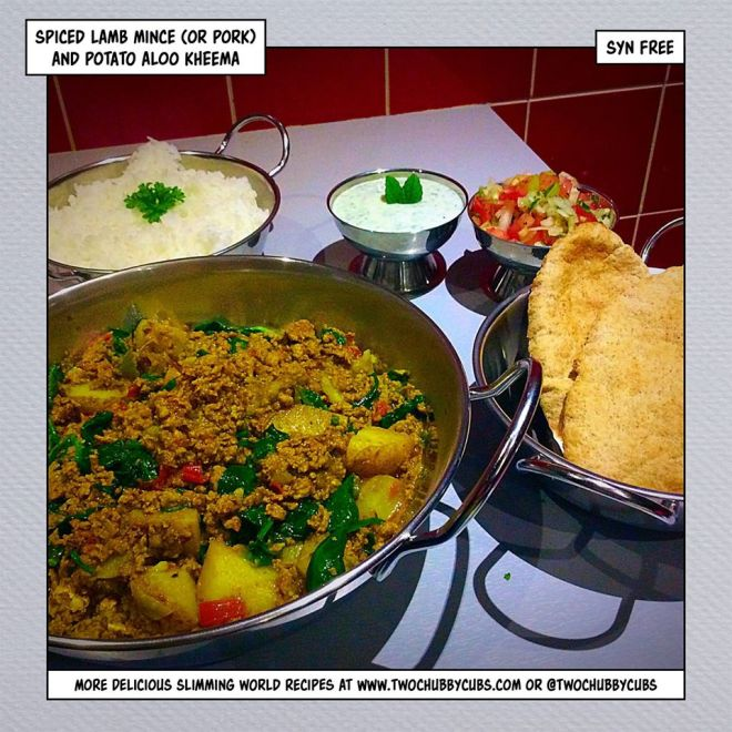 lamb kheema slimming world
