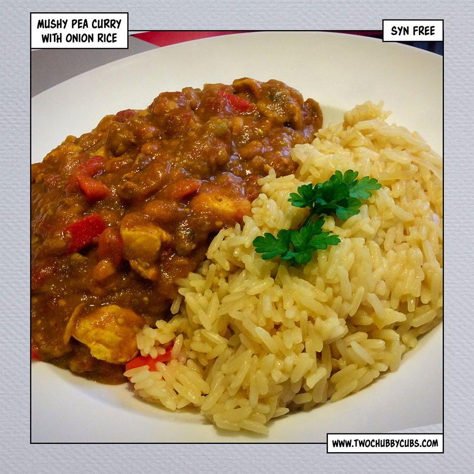 Syn Free Mushy Pea Curry