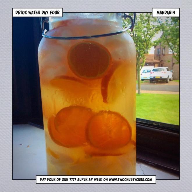 mandarin water