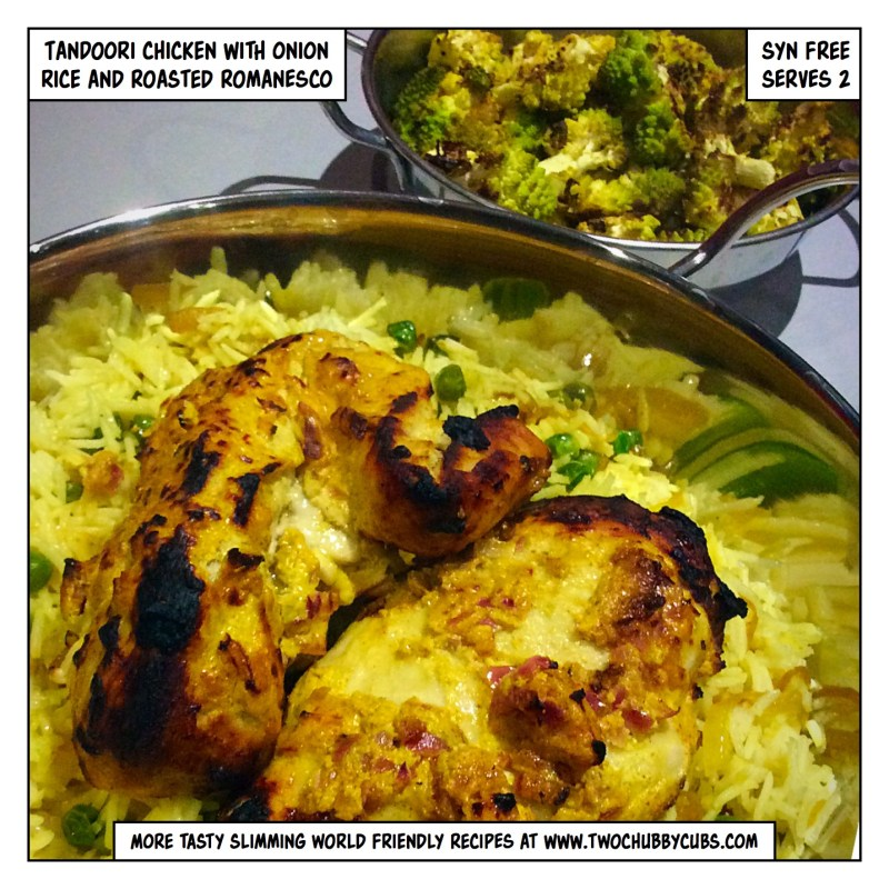 tandoori chicken slimming world