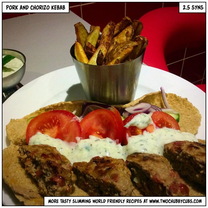 pork and chorizo burgers
