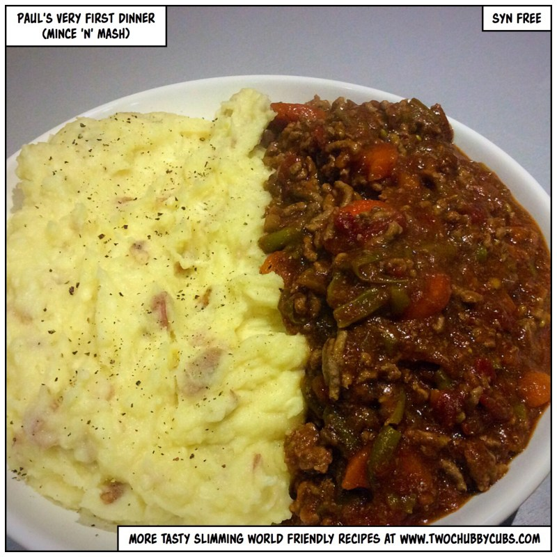 Syn Free Mince And Mash Twochubbycubs