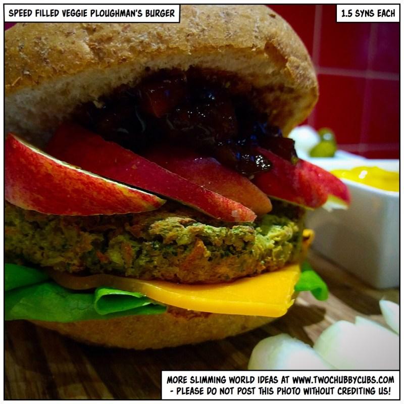 veggie ploughman's burgers