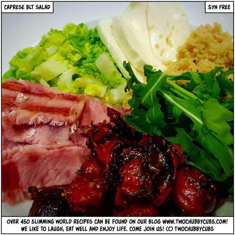 caprese blt salad