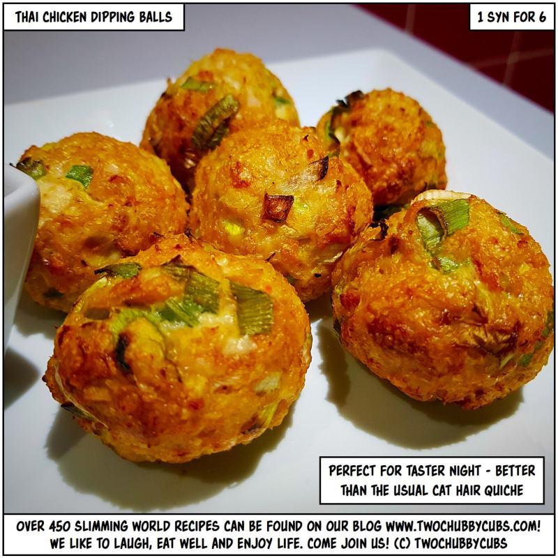 chicken dipping balls