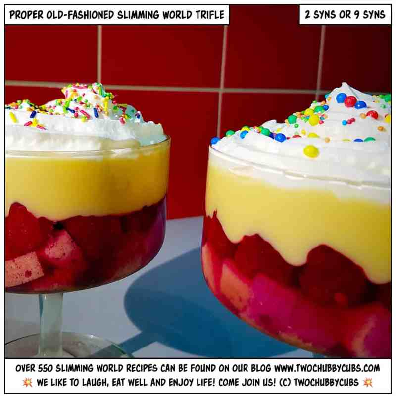slimming world trifle
