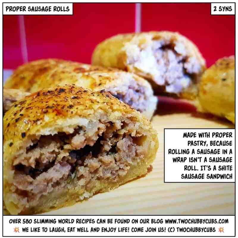 proper sausage rolls