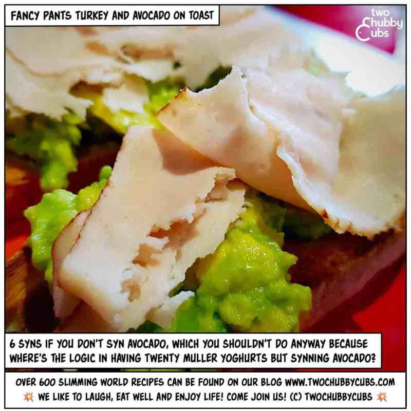 turkey and avocado toast