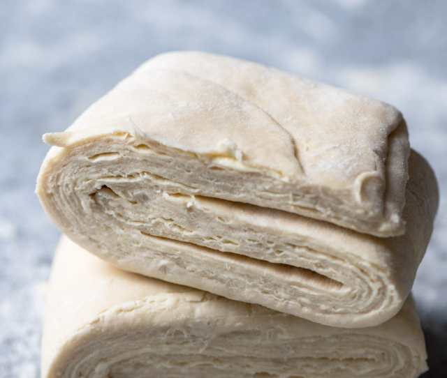 Homemade Rough Puff Pastry