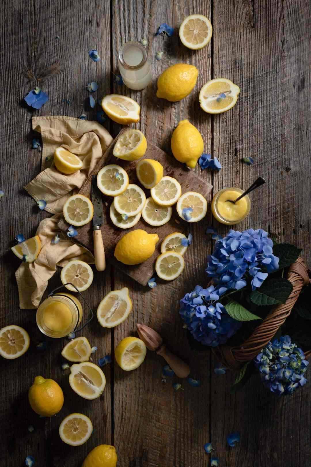 Fresh Lemons for how to make lemon curd recipe.