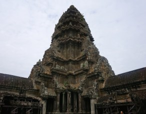 The center tower of the temple.