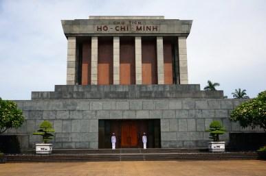 Ho Chi Minh's mausoleum