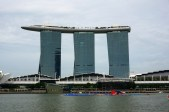 The iconic Marina Bay Sands hotel